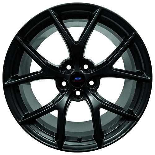 "2015-2019 MUSTANG HP PERFORMANCE PACK 19"" X 10.5"" FRONT WHEEL - MATTE BLACK"
