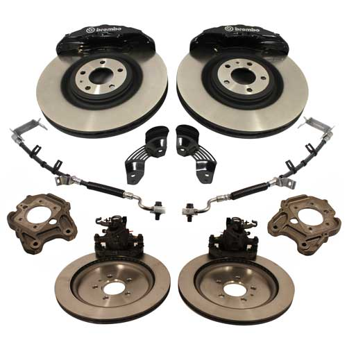 2005-2014 MUSTANG SIX PISTON 15-INCH BRAKE UPGRADE KIT