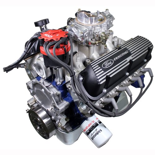 X2347D STREET CRUISER-DRESSED CRATE ENGINE WITH X2 HEADS-REAR SUMP PAN