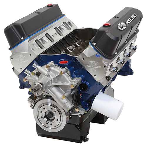 427 CUBIC INCH 535 HP BOSS CRATE ENGINE-Z2 HEADS-REAR SUMP PAN