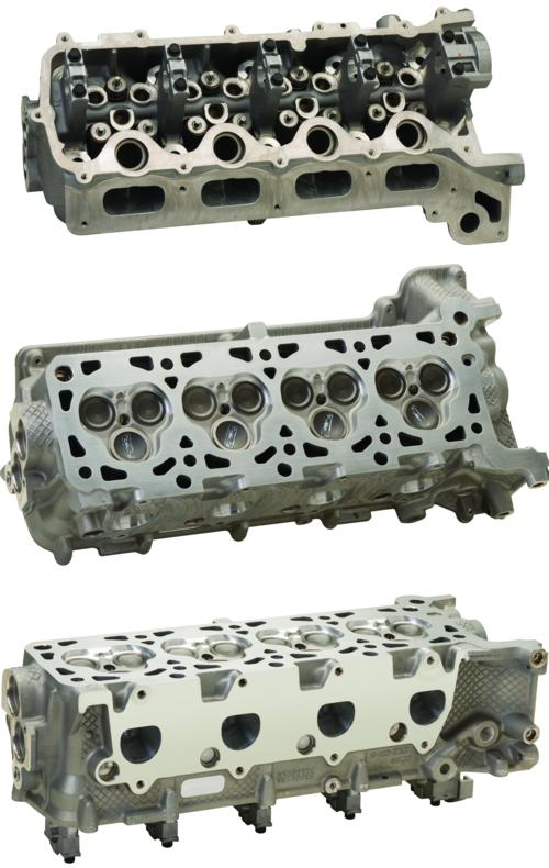 4.6L/5.4L CNC PORTED 3V RH CYLINDER HEAD - ASSEMBLED