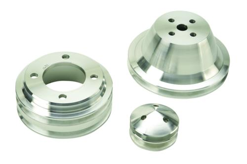 1970-1978 MUSTANG BILLET DUAL GROOVE PULLEY SET