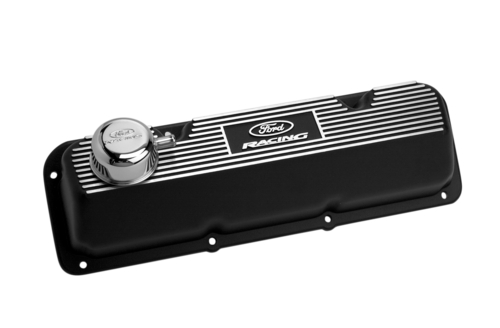 BLACK SATIN VALVE COVER